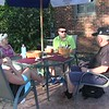 Video:  1 1/2 mins ~~ Dinner at Donna's with Jim, Penny and Ray, Sun., Sept 24, 2017