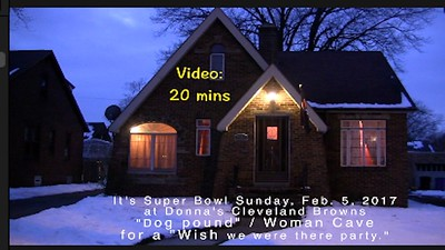 Super Bowl Sunday, Feb. 5, 2017 at Donna's.