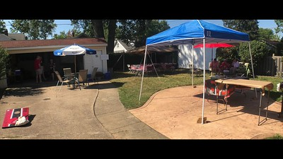 Video:  12 mins ~~ Donna & Jim's Tailgate Party, Sun., Sept. 22, 2019 prior to Rams game downtown