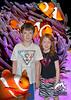 D, L clownfish