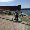 We did a little bicycling around Sturgeon Bay Shipyards
