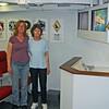 Laura and Dori in Phantom Ready Room