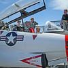 Matthew in Jet Trainer Cockpit