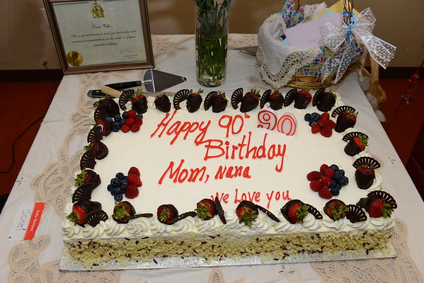 Doris's 90th Birthday