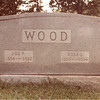 Joe P. and Rosa Wood Headstone<br /> Claude S. Wood's parents<br /> (Dorothy Wood Thaxton's paternal grandparents)<br /> Gallman Cemetery<br /> Gallman, Mississippi<br /> Copiah County, Misssissippi