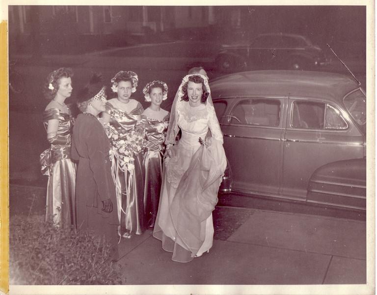 Ellie and Annie Nicholson, Dodie Wyland, ?, Jean Nicholson