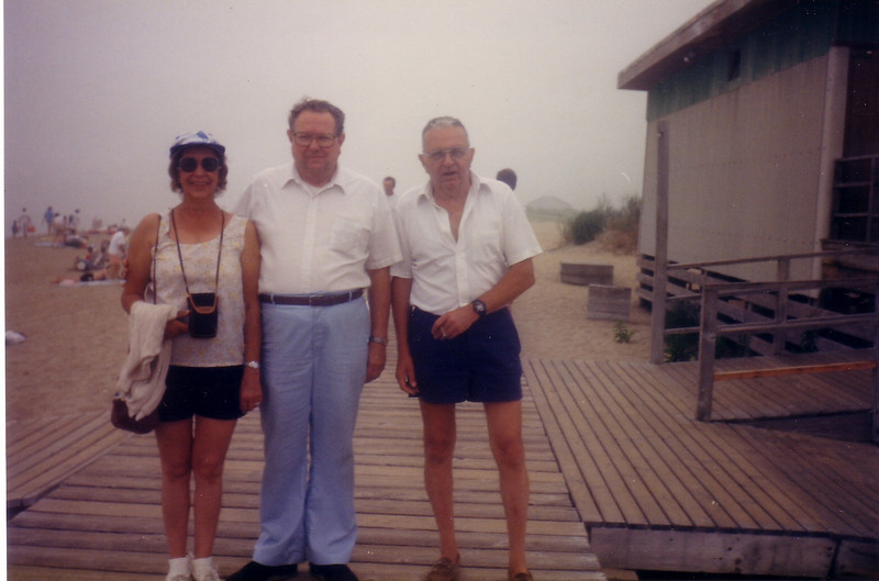 Marian and Andy Anderson w/ cousin Doug Johnston