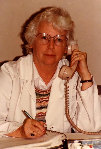 Jean Johnston at Hartford Hospital Admitting Office