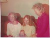 4 Generations:  Annie Nicholson, John Patrick Curran, Lynn Johnston Curran, Jean Nicholson Johnston