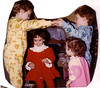 Grandchildren John Patrick, Leah, Jackie Lynn, and John Joseph--Christmas in CT