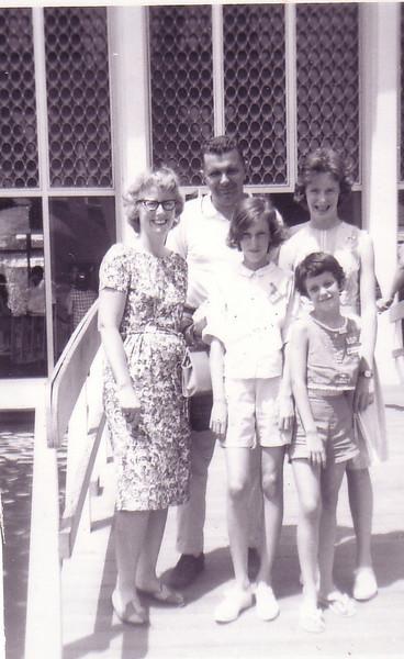1964 Worlds Fair in New York--The Johnston Family