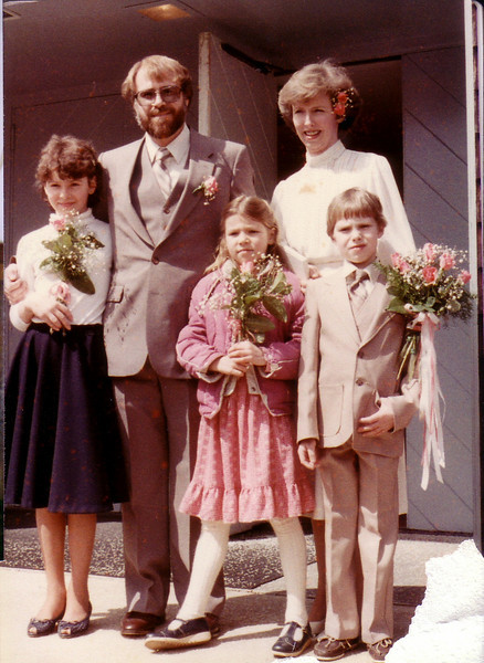 Bill & Lynn's Wedding 3/24/84