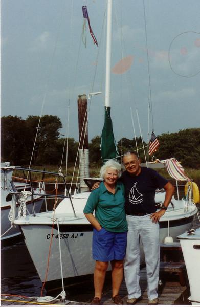 Jean & Doug Johnston w/Seaya