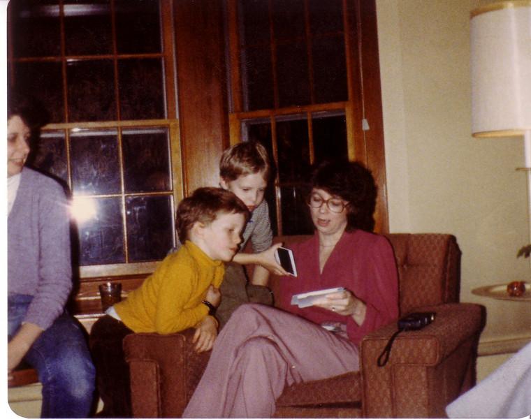 Laurie, John J, John P, and Audrey Hunt