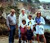 Pt. Lobos: Bill, John, Willa, Douglas, Leah, & Beth