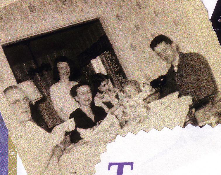 Uncle Dan, Jean, Aunt Peg, Audrey, Lynn, & Doug