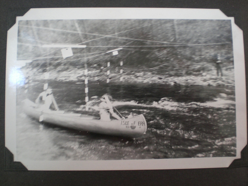 Doug and Lynn Johnston --canoe race on Salmon River