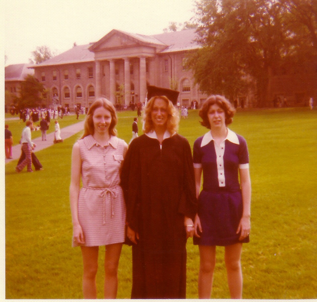 Lynn, Beth, & Laurie at Beth's graduation from Cornell