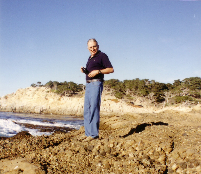 Dad in Monterey