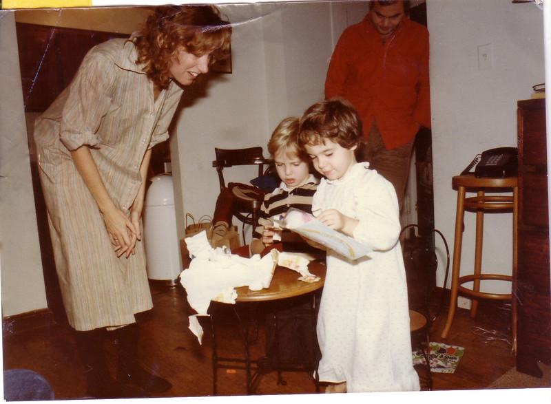 Beth and Joh Tracosas with John Patrick and Leah