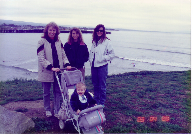 Daughter Lynn and Emily, Kymber and Douglas 1989