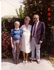 Daughter Lynn with son John and husband Bill in Campbell just before Douglas was born 1988