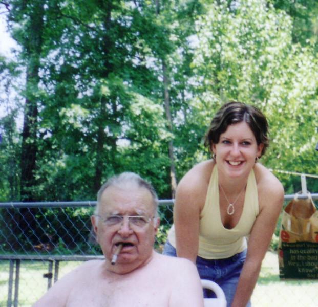 Grandpa and Jackie