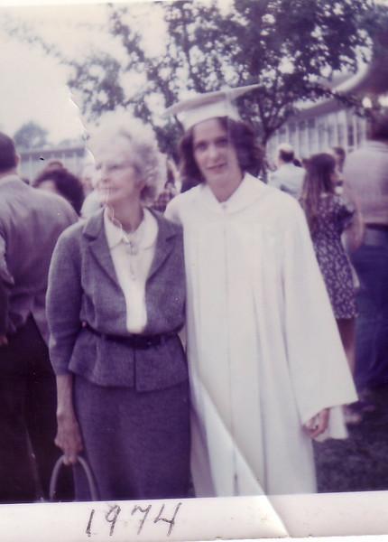 Laurie High School Graduation 1974