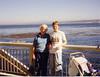 Jean and grandson John Patrick at Monterey Bay Aquarium