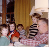 Jackie Lynn, Matt, & John Caracoglia, John Curran w/Grandpa Johnston in Suffield, CT