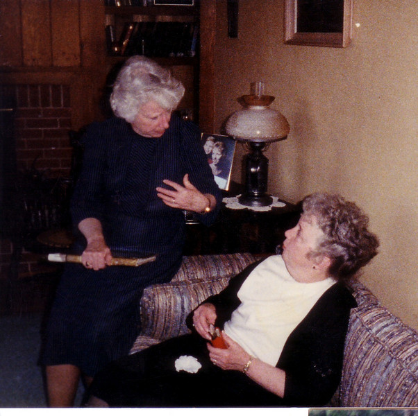 Jean Johnston & Eleanor Ingraham