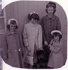 Easter:  Beth, Lynn, Wags, Jean, and Laurie Jo--love the hats! 1960