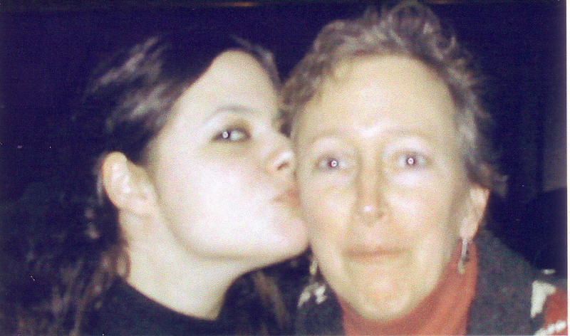 Leah with mom Beth