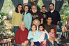 "Grandma celebrating Christmas with the Walton family in CA:  Emily, Kymber, Bill, Douglas, & Jay in back, Mom, Lynn, Joel and ""the liittle grls"" Beija, Camille and Josie"