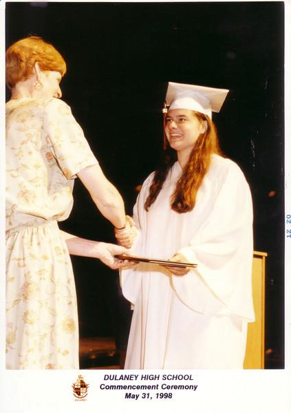 Granddaughter Leah's graduation