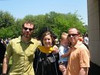 Granddaughter Jackie's graduation with brothers Matt and John