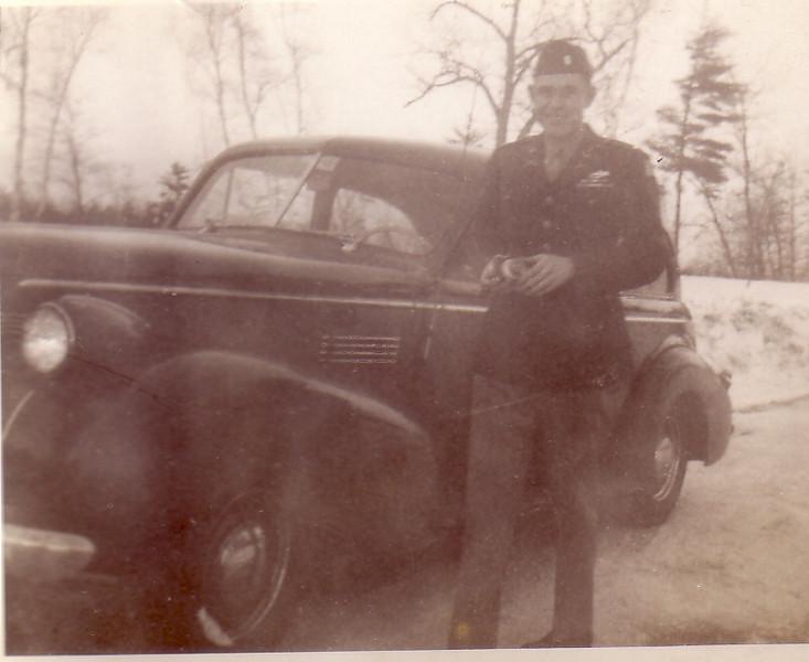 Paul Ingraham (Jean's sister's husband) WWII