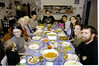 Thanksgiving at the Walton's in Boulder Creek CA:  Beija, Kymber Waltmunson,  Lynn, Jean, Douglas, Bill, Camille, Joel, & Emily Dizon, Malia & Matt Caracoglia