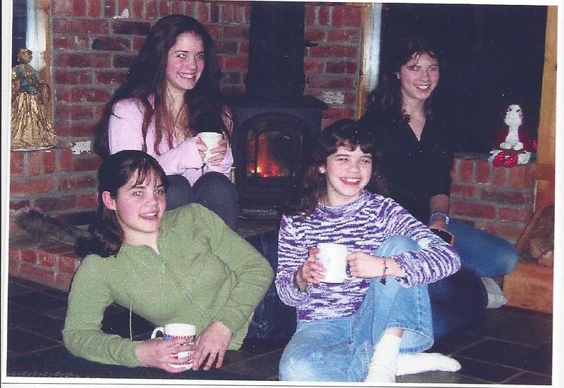 Audrey's daughter Pam's girls