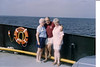 Jean & Doug with Helen Dobosz on the ferry