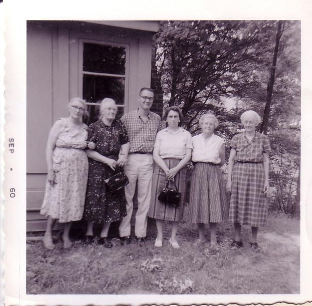 ?, ?, ?, Lillian Little,  Annie Nicholson, ?