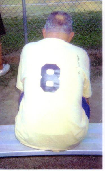 Dad --church softball