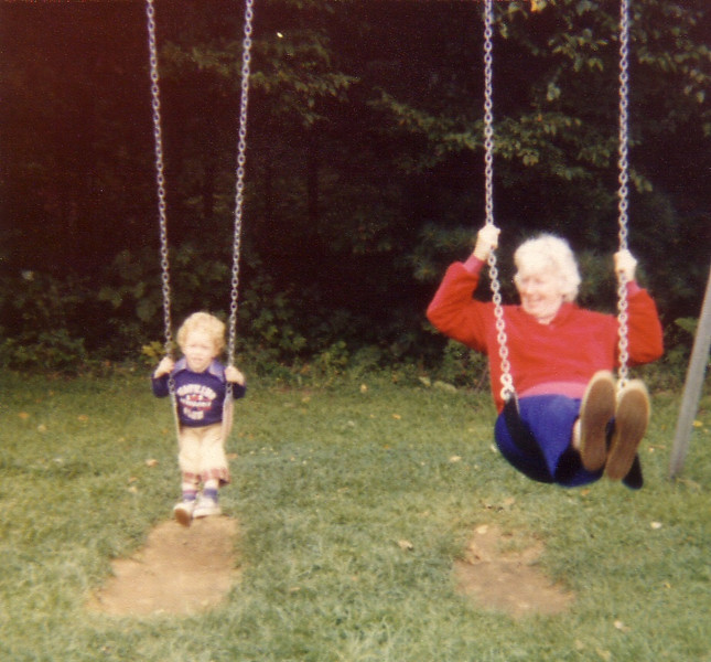 John Caracoglia & Grandma Johnston