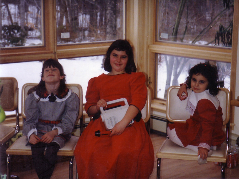 Jackie, Leah,Willa--Christmas in CT