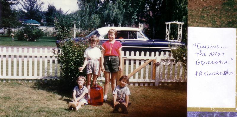 Beth and Lynn Johnston, Dee and Kerryl Wyland