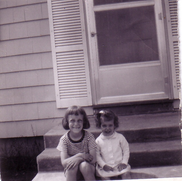 Beth and Laurie on Riverview Terrace