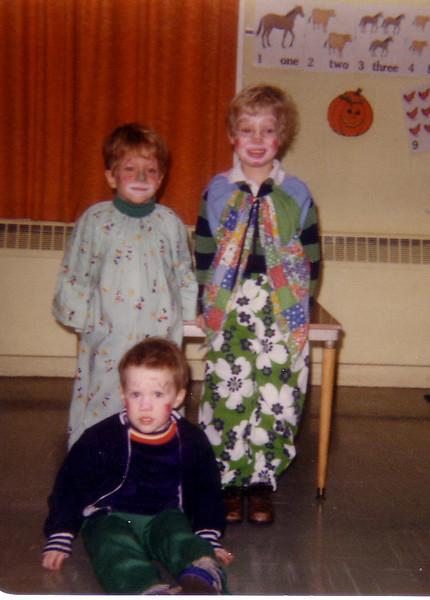Matt, John J and John P