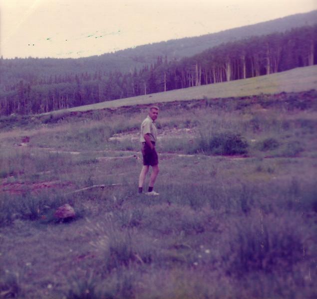 Dad in Flagstaff 1975