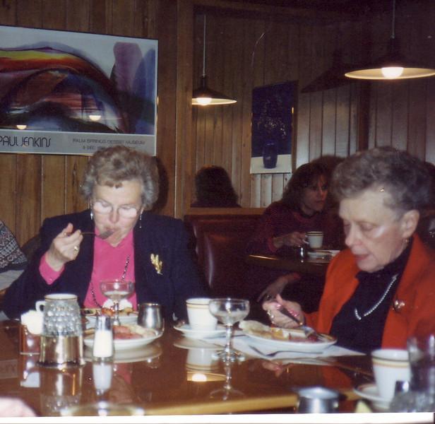 Ruth Nicholson and Doris Dion  (Jean's cousins)