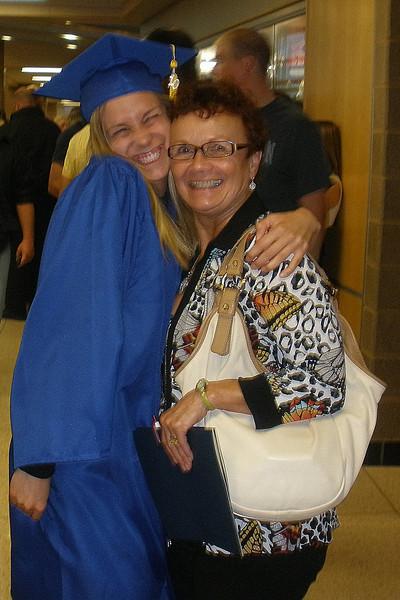 Kelly & Grandma Vadis - after graduation